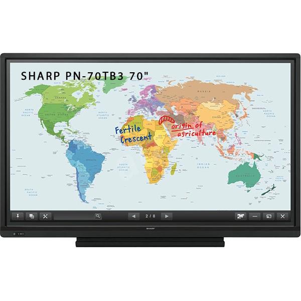 """Интерактивная панель SHARP PN-70TB3 - 70"""""""