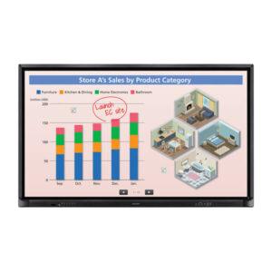 Интерактивная панель SHARP PN-70HC1E—70-дюймовая 4K бюджетная