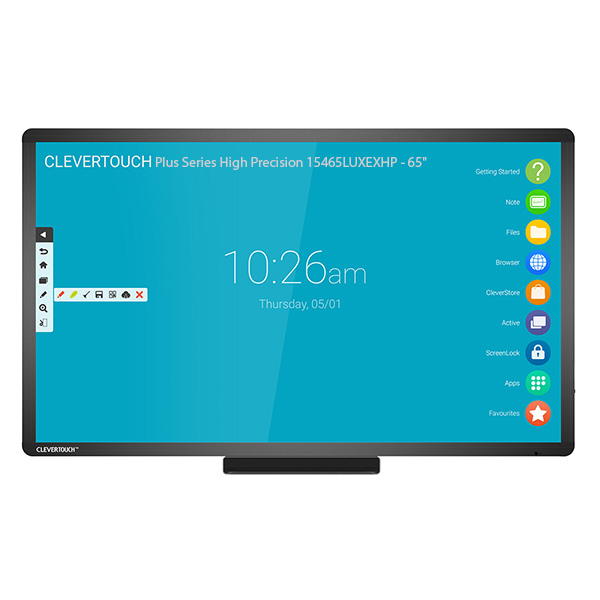 Интерактивная панель Clevertouch Plus Series High Precision 15465LUXEXHP - 65""