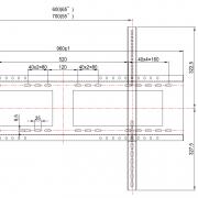 "Настенный кронштейн Prestigio PMBWMK для дисплеев диагональю 55-98"""
