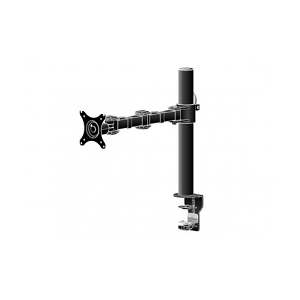 Гибкое настольное крепление для одного монитора с зажимом и втулкой DS1001C-B1