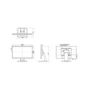 Схема монитора iiyama T2252MSC-B1
