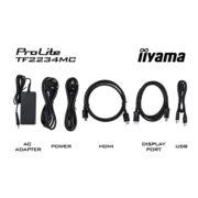 Интерактивная панель iiyama ProLite TF2234MC-B6X - комплектация