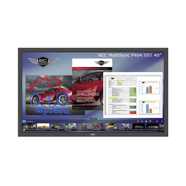"""Профессиональная интерактивная широкоформатная панель NEC MultiSync P404 SST - 40"""""""