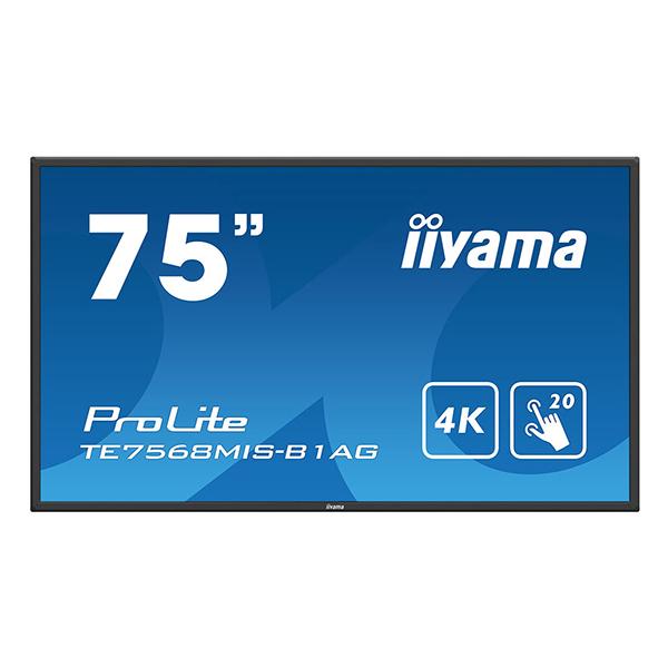 """Интерактивная панель iiyama PROLITE TE7568MIS-B1AG - 75"""""""