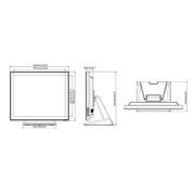 """Интерактивная панель iiyama PROLITE T1932MSC-B5X - 19"""" (Схема)"""