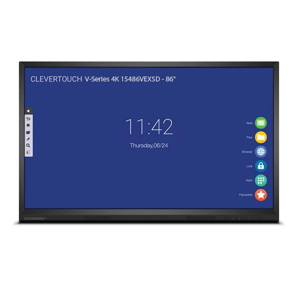 """Интерактивная панель Clevertouch V-Series 4K 15486VEXSD - 86"""""""