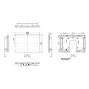"Схема интерактивной панели iiyama ProLite TF1015MC-B2 — 10"""