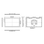 Схема интерактивной панели iiyama ProLite TF2415MC-B2