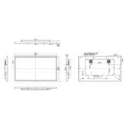 Схема интерактивной панели iiyama ProLite TF4338MSC-B2AG