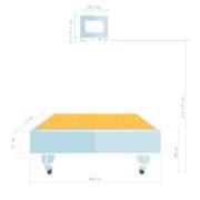 Интерактивная песочница iSandBOX Floorium - схема
