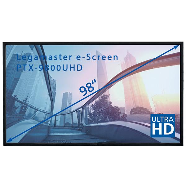 """Интерактивная панель Legamaster e-Screen PTX-9800UHD - 98"""""""