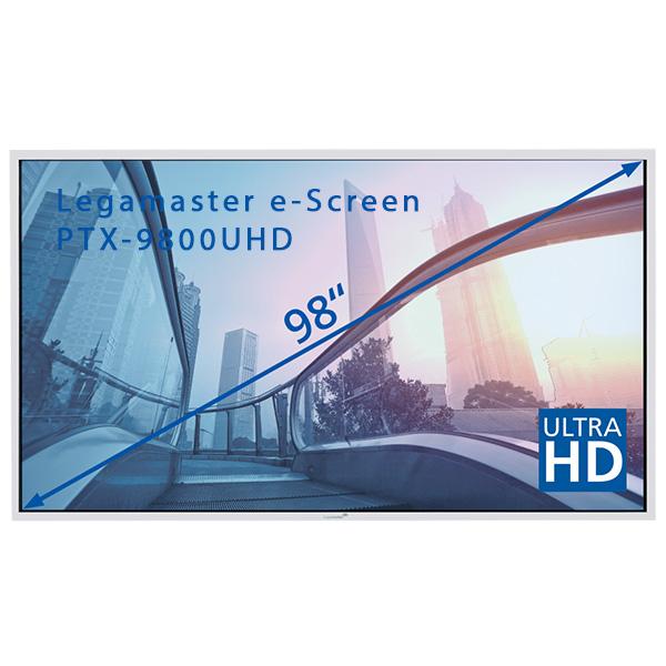 "Интерактивная панель Legamaster e-Screen PTX-9800UHD white - 98"""