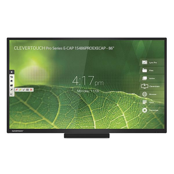 "Интерактивная панель Clevertouch Pro Series E-CAP 15486PROEXECAP - 86"""