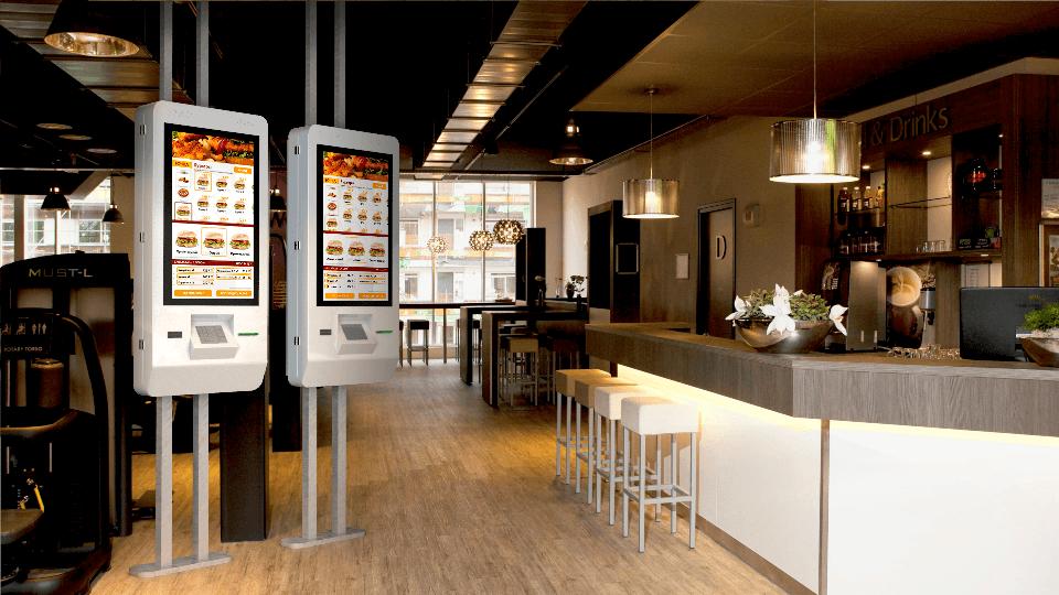 Терминал самообслуживания Cafe Luxe