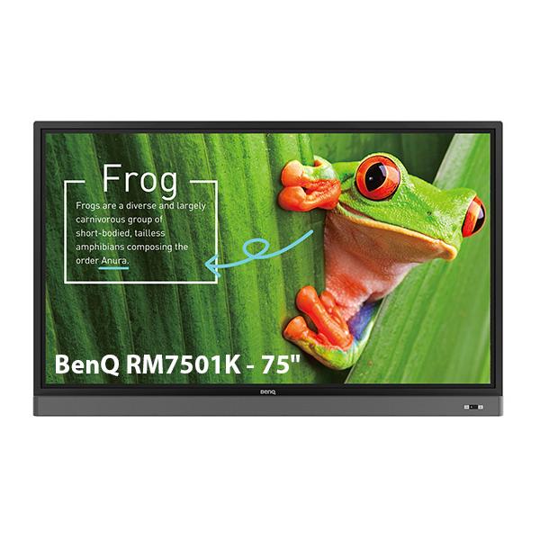 """Интерактивная панель BenQ RM7501K - 75"""""""