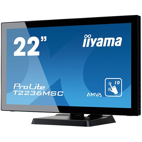"""Интерактивная панель iiyama ProLite T2236MSC-B2 ― 22"""""""