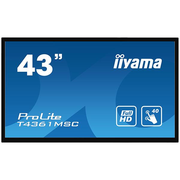 """Сенсорный профессиональный монитор iiyama ProLite T4361MSC-B1 — 43"""""""