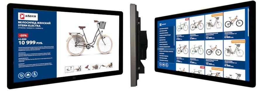 Настенная интерактивная панель TS-LINE TL5536W с разрешением 4K