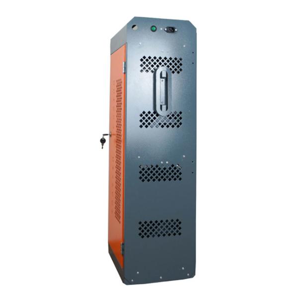Навесной шкаф с розетками для зарядки 20 планшетов