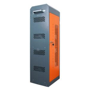 Навесной шкаф с USB выходами для зарядки 20 планшетов