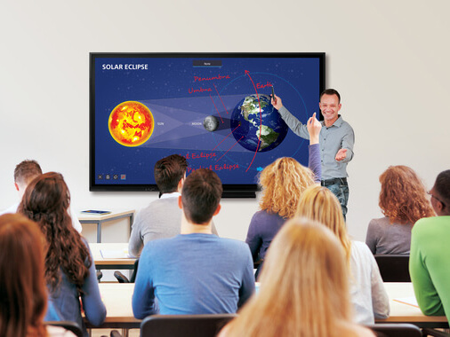Интерактивная панель SHARP PN-86HC1 — 86-дюймовый 4K бюджетный BIG PAD для образования, офиса, переговорных комнат